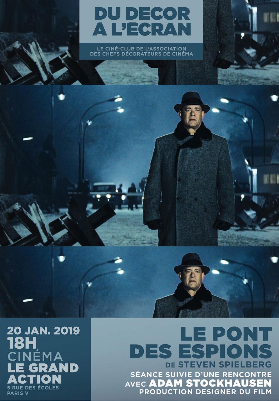 Le Pont Des Espions De Steven Spielberg Projete Au Cine