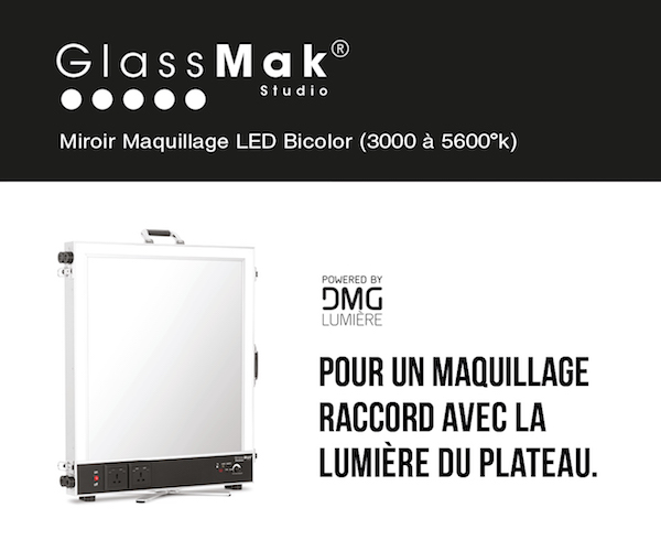 Glassmak | Glace maquillage LED professionnelle