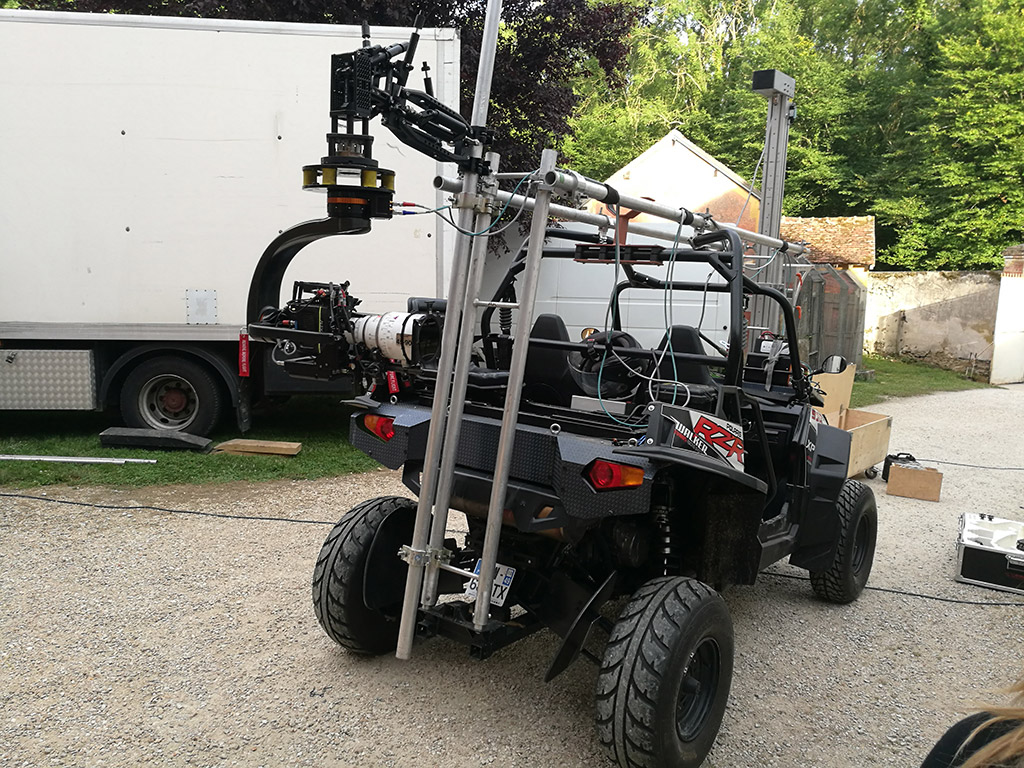 Shotover G1 et Black Arm / Arri Alexa Mini et Hawk 45-90 mm