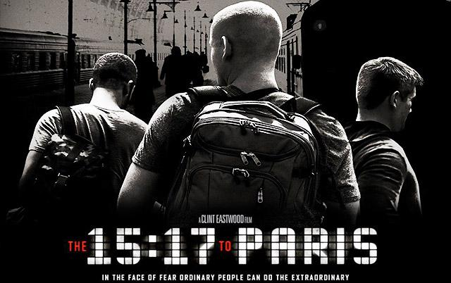 "Interview with Cinematographer Tom Stern, AFC, ASC, about his work on Clint Eastwood's film ""The 15:17 to Paris"" At 186 mph"