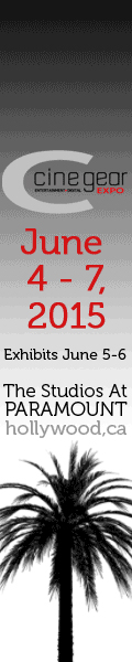 Cine Gear Expo LA 2015