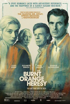 affiche The Burnt Orange Heresy