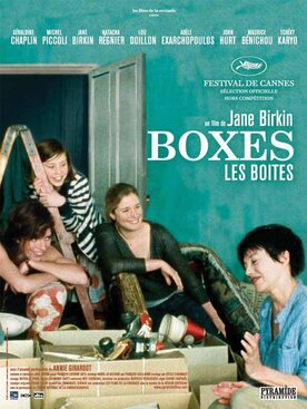 Boxes directed by Jane Birkin, cinematography by François Catonné, AFC