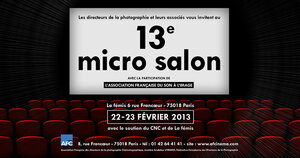 Micro Salon 2013, une belle édition en perspective !