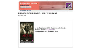 Projection privée : Willy Kurant