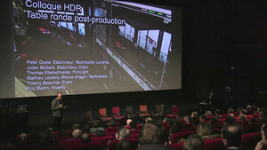 Colloque HDR / AFC : module 3, étalonnage et postproduction