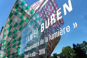 Observations lumineuses et multicolores à la Fondation Vuitton