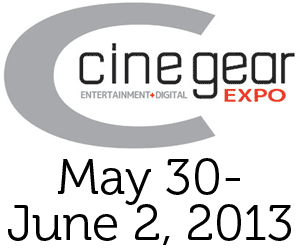 Cine Gear Expo 2013