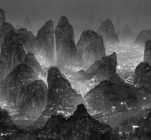 "Exposition ""The Silent Valley"" Des images de Yang Yongliang"