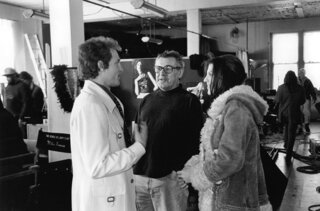 Woody Harrelson, Miloš Forman et Courtney Love