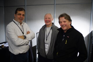 Marc Galerne, Brian Beaumont et Mark Fowler