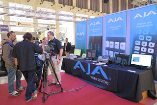 Le stand AJA Video Systems