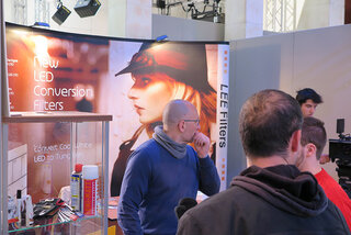 Sur le stand Lee Filters