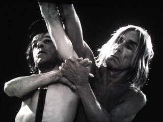 Denis Lavant et Iggy Pop