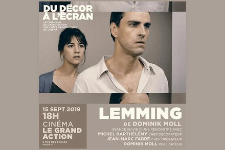 """Lemming"", de Dominik Moll, projeté au Ciné-club des chefs décorateurs"