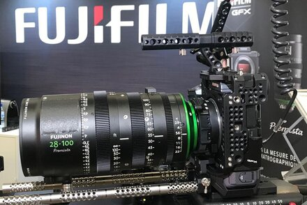 Tests of the new Fujifilm GFX 100 camera body with the Fujinon Premista 28-100mm zoom lens By Stéphane Cami, AFC