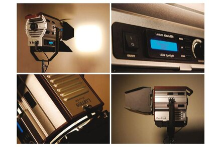 Vincent Jeannot, AFC, shoots with the LED Lumos Hawk 150 projector