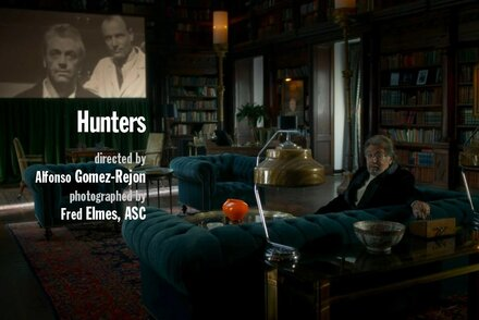 "Fred Elmes, ASC, speaks about his work on the ""Hunters"" series' pilot, directed by Alfonso Gomez-Rejon Al Pacino vs. the 4th Reich"