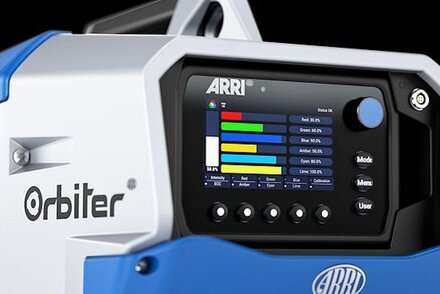 Firmware update LiOS V1.2.1 for the Arri Orbiter