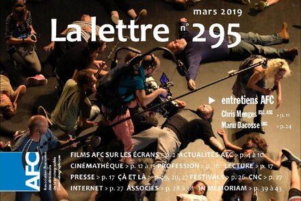 AFC Newsletter Editorial, March 2019 A little tune…, by Gilles Porte, President of the AFC, and Caroline Champetier, Vice-President
