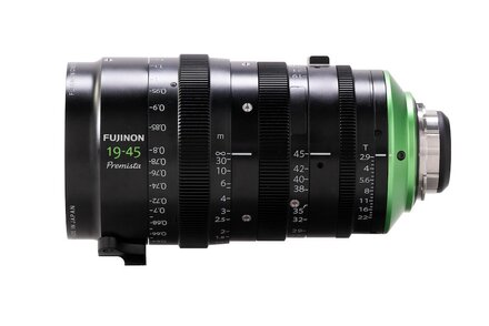 Fujifilm to Launch the Fujinon Premista 19-45mm T2.9