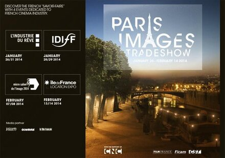 Paris Images Trade Show, the new label dedicated to promoting the French cinema industry