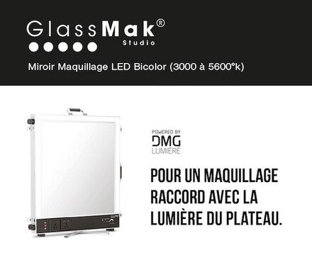 Glassmak Glace maquillage LED professionnelle
