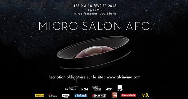 Micro Salon Afc 2018 Premier Coup Dœil Afcinema